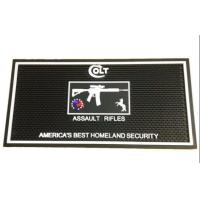 Buy cheap Injection Logo Rubber Beer Mats , Personalized Rubber Bar Mats Moisture Protection from wholesalers