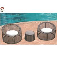 Buy cheap 2 seats round rattan furniture set RMS-0049 from wholesalers