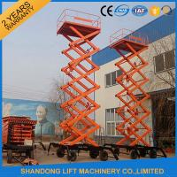 Buy cheap Electric Hydraulic Lift Table , Mobile Aerial Work Lifting Platforms Equipment for Building Cleaning from wholesalers