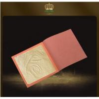 Buy cheap Factory wholesale hot sale craft 12k pure gold foil leaf sheet 8*8 CM 50% gold content from wholesalers