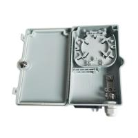 Buy cheap Waterproof Gland 4 Core Optical Fiber Distribution Box / Small Fiber Optic Box from wholesalers
