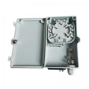 China Waterproof Gland 4 Core Optical Fiber Distribution Box / Small Fiber Optic Box on sale