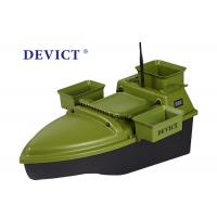 China Lithium batter RC Fishing Bait Boat DEVC-204 green ABS Engineering RC model on sale
