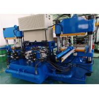 Buy cheap 100 Ton 2 Working Stations Rubber Vulcanizer With Double Zones Electric Heater from wholesalers