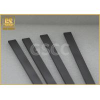 Buy cheap Solid Wood Working Carbide Wear Strips / High Toughness Carbide Square Bar from wholesalers