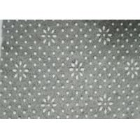 Buy cheap Backing Anti-Slip Grey Polyester Needle Punched Technics Nonwoven Fabric With PVC Dots from wholesalers