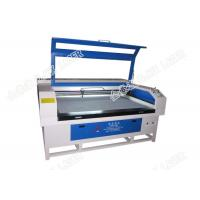 Buy cheap 80w / 100w Laser Wood Cutting Machine For Inlays Furniture Marquetry Cabinetry Parquet Floor product
