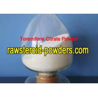 Buy cheap Toremifene Citrate Anabolic Steroid Powder Fareston Tablet For PCT Cycle from wholesalers