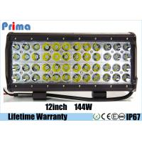 Buy cheap 12 4 Rows Led Jeep Light Bar Quad Row 144W For Off road Vehicles Combo Spot Flood Light from wholesalers