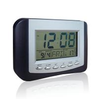 Quality Plastic HD-5302G Digital Thermometers with Time, Temperature, Date display for sale