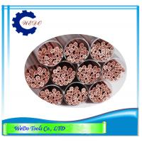 Buy cheap 1.8mm Multi Hole EDM Electrode Copper Pipe Copper Tube For EDM Drilling Machine from wholesalers