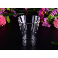 Buy cheap Thermal And Cool Drinking Double Wall Glass Tea Cup / Clear Double Wall Tumbler from wholesalers