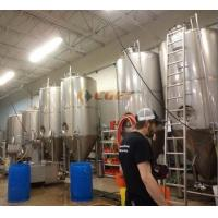 Buy cheap SUS 304 Craft Beer Brewing Equipment 4 BBL Brewing System With ISO CE Certificated from wholesalers