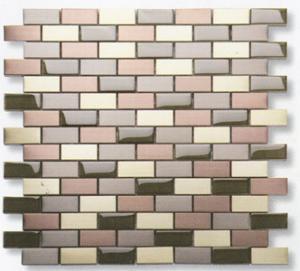 color mixed aluminum luxury golden steel tile