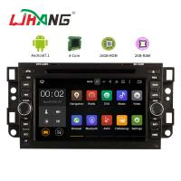 China 9 Inch Head Unit Chevrolet Car DVD Player GPS Navigation With Free Map Card on sale