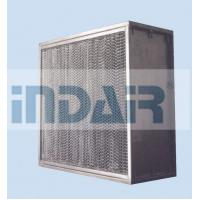 Buy cheap High Mechanical Strength Clean Room HEPA Filters , SUS304 Frame H13 HEPA Filter from wholesalers