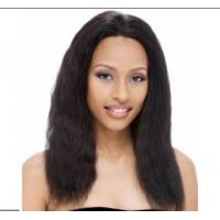 Buy cheap Straight Remy Human Hair Front Lace Wigs With Baby Hair Around from wholesalers