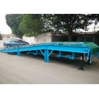 Buy cheap Seperated design Mobile Yard ramp with 10 ton capacity from wholesalers