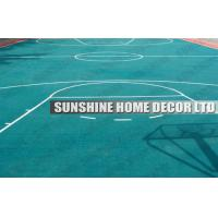Buy cheap Plastic Flooring Price Suspended Modular Outdoor Basketball Playground Plastic Flooring Sheet from wholesalers