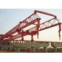 Buy cheap Bridge Girder Install Beam Launcher Crane Trussed Type For Light Rail Transit Project from wholesalers