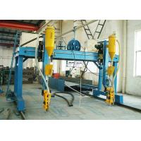 Buy cheap Gantry Cantilever H Beam Welding Machine , Cross Beam Automatic Beam Welding Line from wholesalers