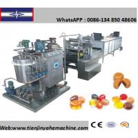 Buy cheap BBT series Stainless Steel Made Hard Candy Depositing Production Line from wholesalers