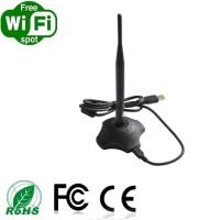 Buy cheap 1000mw 150Mbps 802.11n RT3070 High Power Wifi usb adapter with RP-SMA detachable antenna have CE certification from wholesalers