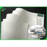 Buy cheap Grade AA 869mm 889mm 50gsm 55gsm 60gsm White Printing Paper For Magazine from wholesalers