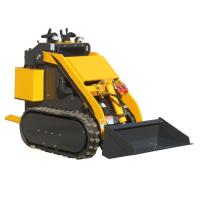 Buy cheap China WY280 0.8ton mini rubber track  crawler skid steer loader from wholesalers