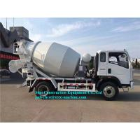 Buy cheap Light Serial 4m3 Cement Mixer Vehicle ZZ1167G3815C1 Engine 130HP Euro III from wholesalers