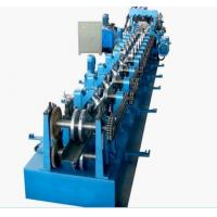 Buy cheap PLC Control Roll Forming Equipment , Automatic Change Size C&Z Purlin Forming Machine from wholesalers