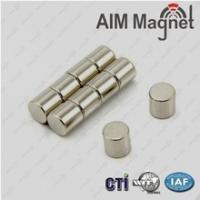Buy cheap small sintered ndfeb high grade N52 Neodymium Disc Magnets from wholesalers