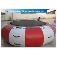 Buy cheap Interesting Round Inflatable Water Game , Inflatable Trampoline For Water Jumping product