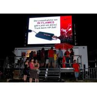 Buy cheap Outdoor Truck Mounted Full Color Mobile LED Screens Billboard from wholesalers