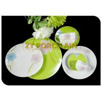 Ceramic SUPER white  COUPE Dinnerware Sets  With High Quality