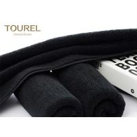 Buy cheap Black Eco Friendly Comfortable Sports Hand Towels Microfiber Embroidered Hand Towels from wholesalers