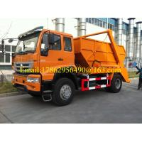 Buy cheap City Cleaning Special Purpose Truck Compression Garbage Truck 12 -14 CBM ZZ1167H501GD1 from wholesalers