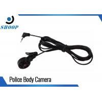 Buy cheap Mini Body Camera Accessories 420 TV Lines Headset Police Hidden Bullet Camera from wholesalers