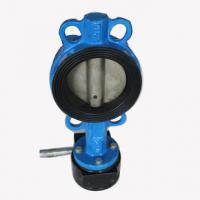 Buy cheap Industrial butterfly wafer valve With Gearbox , PN 10 Bar Hand / Manually Operated from wholesalers