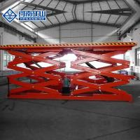 Buy cheap Stable Hydraulic Scissor Lift Tables , Durable Hydraulic Scissor Lift Trolley from wholesalers