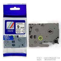 Buy cheap Brother label tape cassette Black on white 9mm * 8M Tze 221 Tze-221 from wholesalers