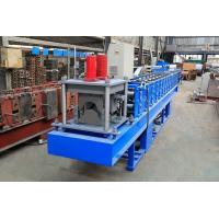 Buy cheap 0.3-0.8mm Thickness Ridge Cap Roll Forming Machine High Working Efficiency from wholesalers