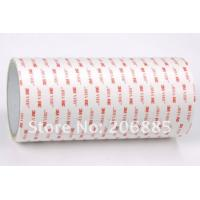 Buy cheap Die Cut Adhesive Material White Double Sticky Arcylic Foam Tape 3M4920 from wholesalers