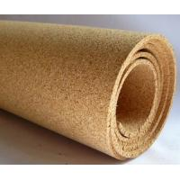 Buy cheap 915mm * 610mm Natural Cork Sheet Roll Paper, Jointing Sheet from wholesalers