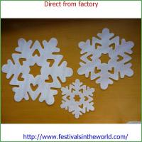Buy cheap original decorative snowflake paper snowflake for Christmas from Wholesalers