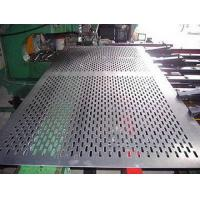 Buy cheap galvanized perforated stainless steel sheet/hole punching wire mesh (factory) from wholesalers