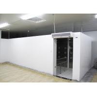 Buy cheap 90 Degree Turn Personnel Air Shower Tunnel  ,  Clean Room Equipments With Painted Steel Material from wholesalers