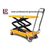Buy cheap Aerial Work Platform Double Scissor High Lift Lift Table For High Place Operation from wholesalers