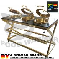 Buy cheap Convenient Beef Carving Station Φ345mm Food Pan Diameter Kitchen Equipment from wholesalers
