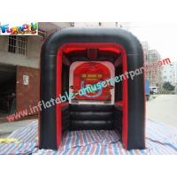 Buy cheap PVC Tarpaulin Inflatable Party Tent , Customized Inflatable Booth For Promotion from wholesalers